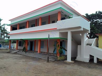 school building - after adopting