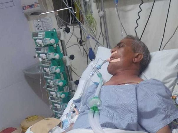 57 Years Old Thakur Prasad Needs Your Help Fight Oral Cancer