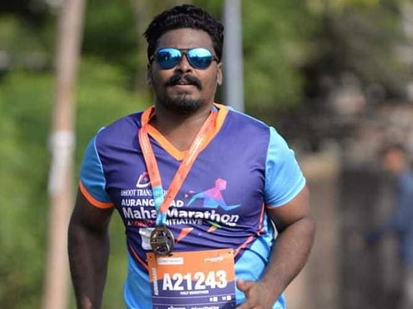 Please Help This Marathon Runner To Get On His Feet And Walk Again