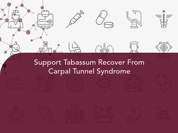 Support Tabassum Recover From Carpal Tunnel Syndrome