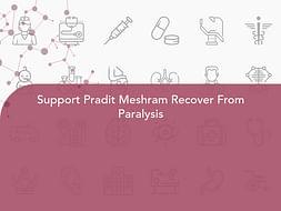Support Pradit Meshram Recover From Paralysis