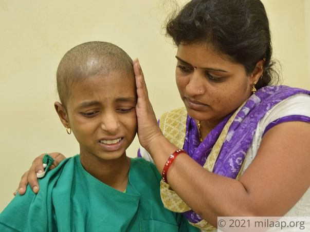 Help Sneha Fight Large Cell Lymphoma