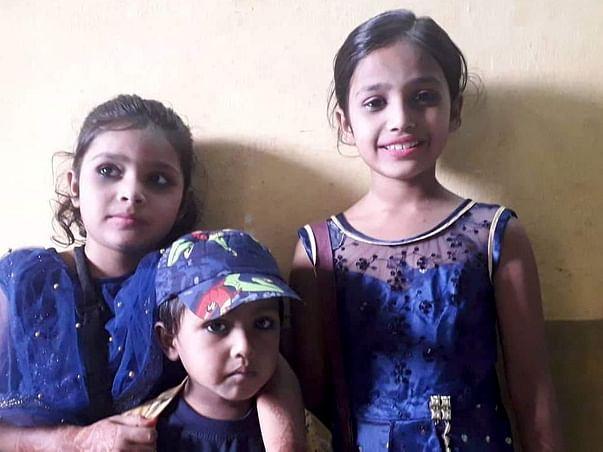 इन 3 बच्चों अल्फिया, आलिया और अयान को शिक्षित करने में मदद करें