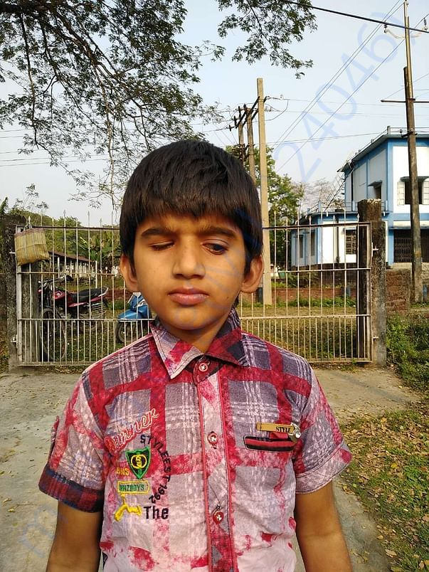 The boy in the school needs your support..Help them