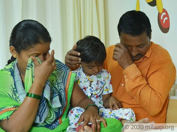 Baby shreya nagane needs a complicated surgery to recover