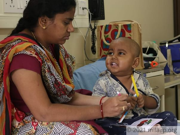 Srijeth has blood cancer and need your support to live
