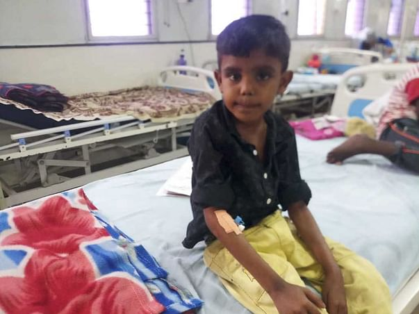 Help 9 Year Old,M.Harthik Fight Against Acute Myeloid Leukemia.