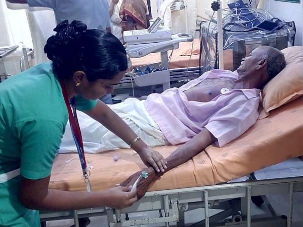 65 years old Arunachalam needs your help fight Coronary artery disease