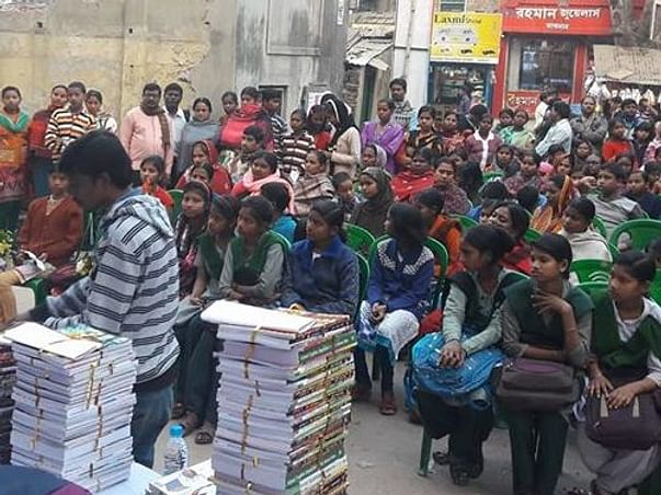 Help Us Distribute Text Books To Under Privileged Students