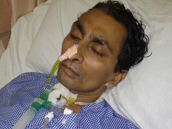 36 Years Old Dilip Solanki Needs Your Help Fight Brain Haemorrhage