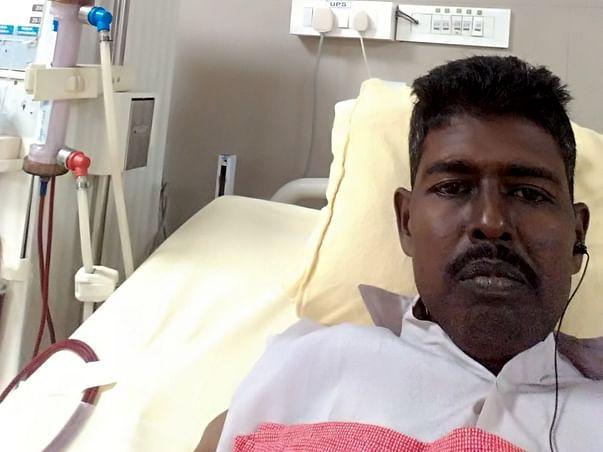 உதவி கோருகிறேன் Support Veeramuthukumar recover from Kidney failure