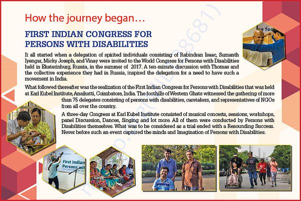 First Indian Congress for Persons with Disabilities