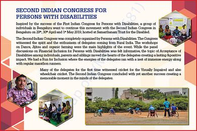 Second Indian Congress for Persons with Disabilities