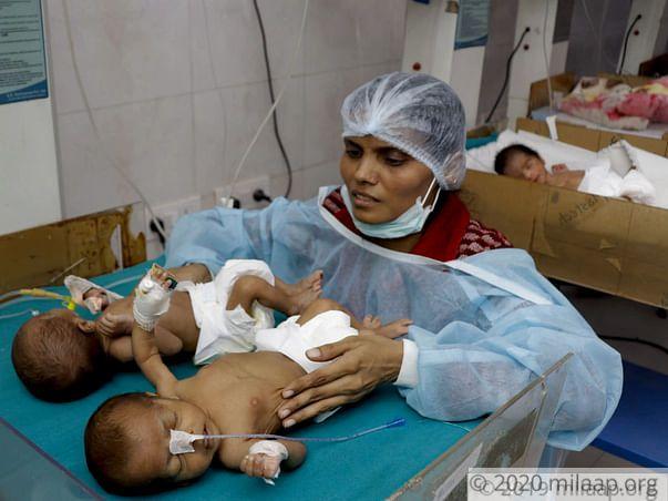 Help Babies Pallavi and Priyanka Recover From Neonatal Enterocolitis