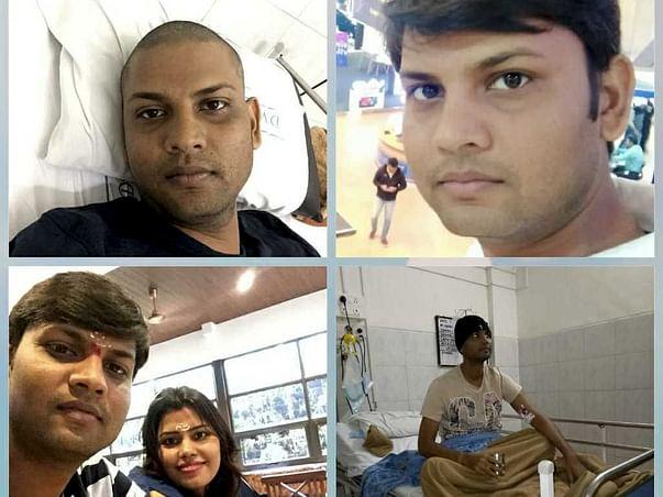 Help My Husband Vinod Fight Acute Myeloid Leukemia