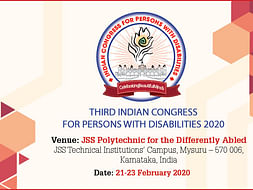 3rd Indian Congress For Persons With Disabilities