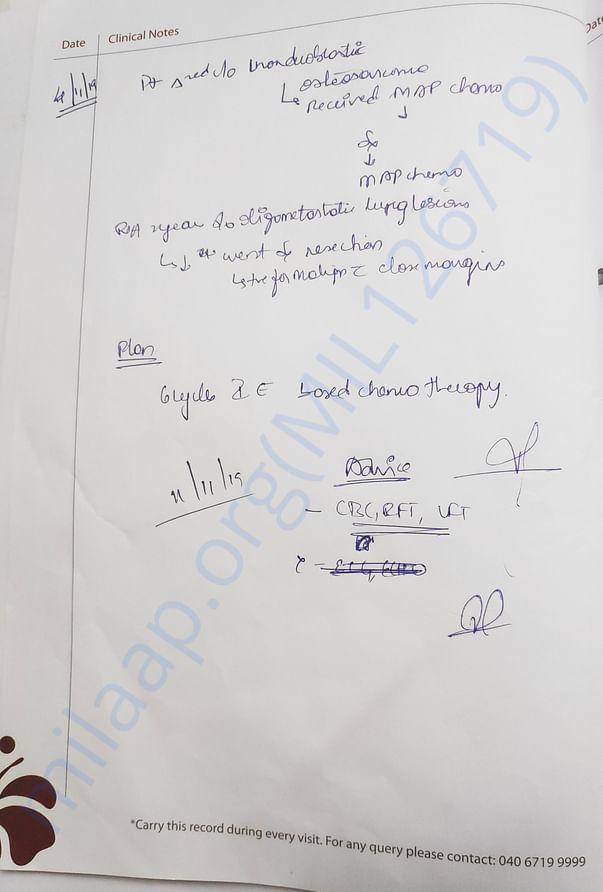 Doctor Letter