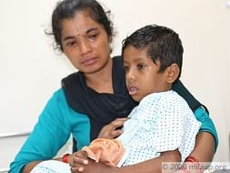 Madan has been diagnosed with a rare disease and needs a transplant