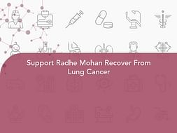 Support Radhe Mohan Recover From Lung Cancer