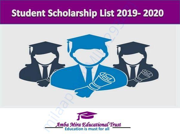 Our Student scholarship program details