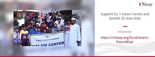 Help poor children to get education.