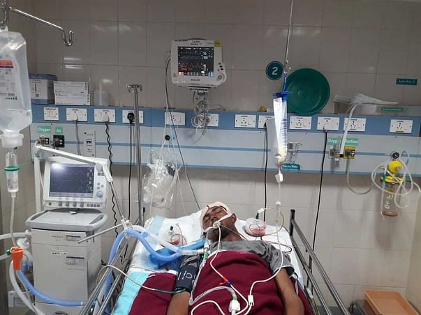 This 24 years old needs your urgent support in fighting Head injury