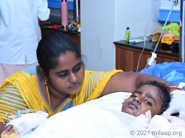 Help Gawtham Recover From Severe Burns