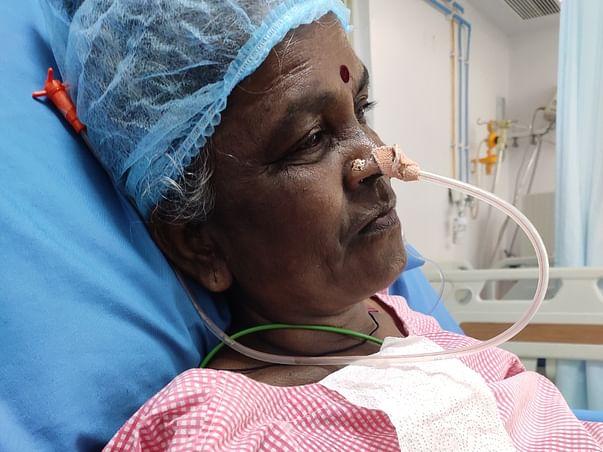 Support Yerragolla Lakshmi Recover From Brain Stroke