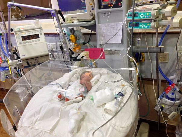 Help Baby Of Lakshmi Suneetha Recover From The NICU