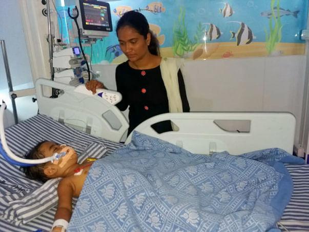 2 Years Old Trisha Pardeshi Needs Your Help Fight Acute Liver Failure
