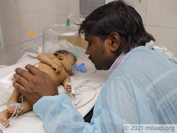 Help Preeti Fight Acute Pneumonia With Respiratory Disorder