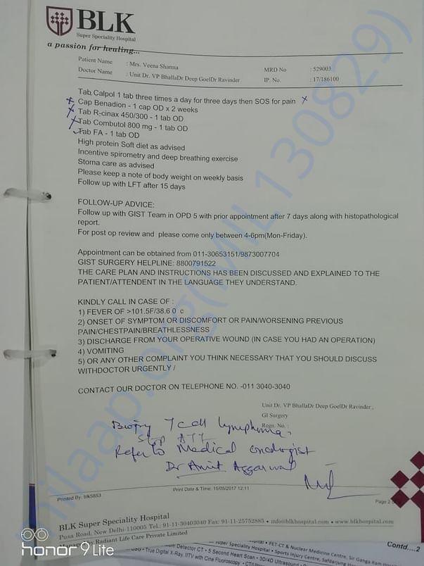 June 15. 17 Discharge Report BLK Pg2