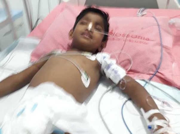 6 Years Old Shantan Kumar Needs Your Help To Recover From Kidney Infection