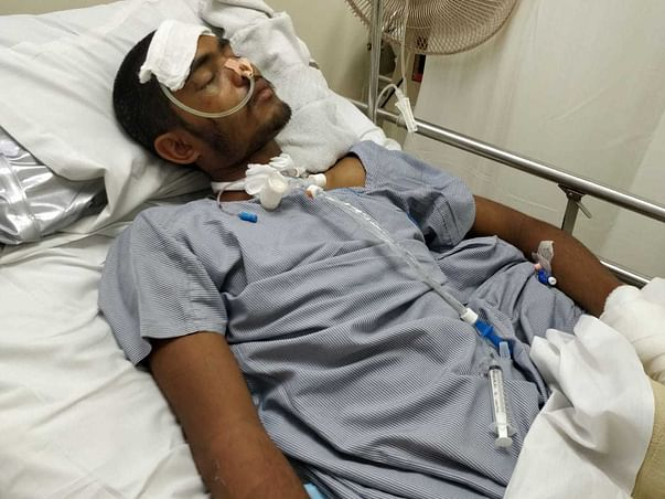 Support Jitendra Sahu Recover From Accident