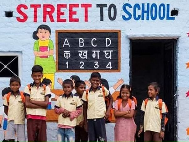 Street to School: Educate And Empower Street Children In India!