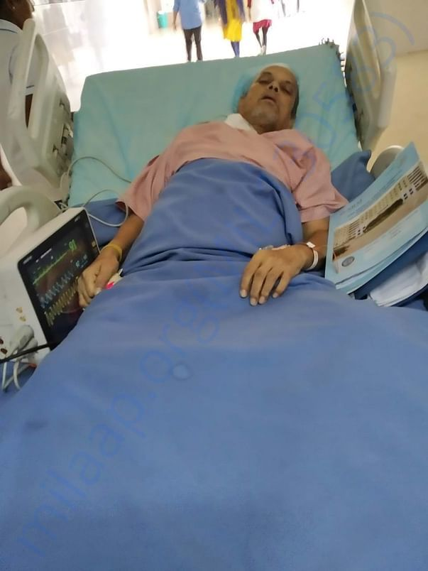 My father as of 09 Jan 2020. He's become very weak. Please pray.