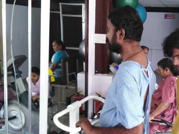 68 Years Old Sandiya Chopede Needs Your Help Fight Multiple Fracture Bones