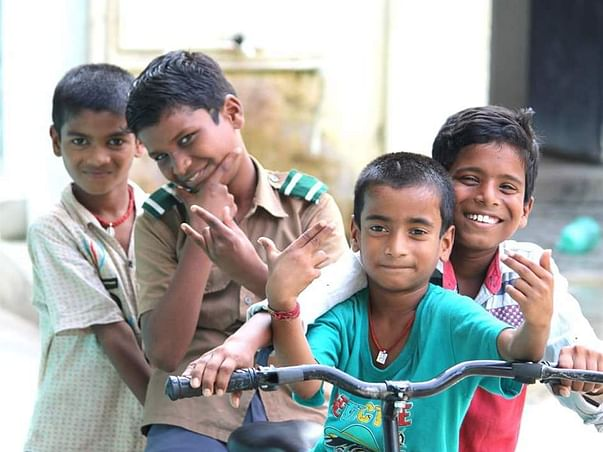 Join hands to make the Children lives brighter