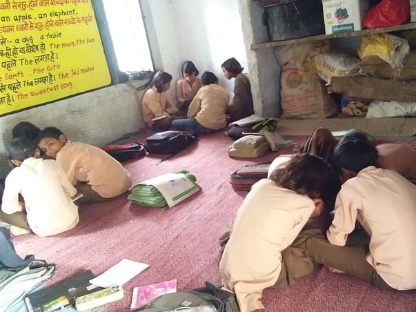 "Help For ""Establish Libraries"" In 5 Government Schools :Rajasthan"