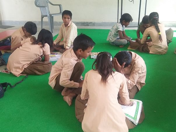 """Help For """"Establish Libraries"""" In 5 Government Schools :Rajasthan"""