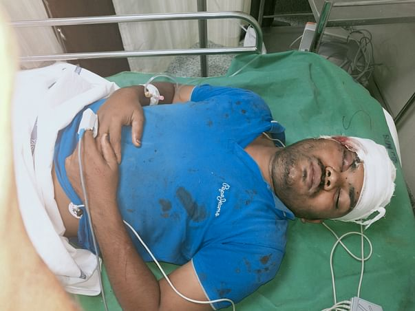 Support Vikas Rao Chapdi Recover From Road accident