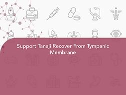 Support Tanaji Recover From Tympanic Membrane