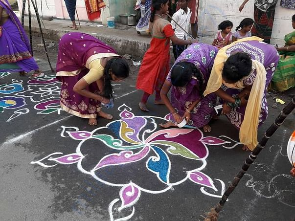 Pongal celebrations at our centre