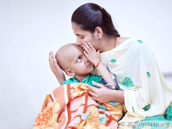 He Wants To Beat Cancer So He Can Grow Up And Take Care Of His Mom