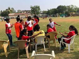 Help Kids From Khusbow Vidya Niketan Play Football