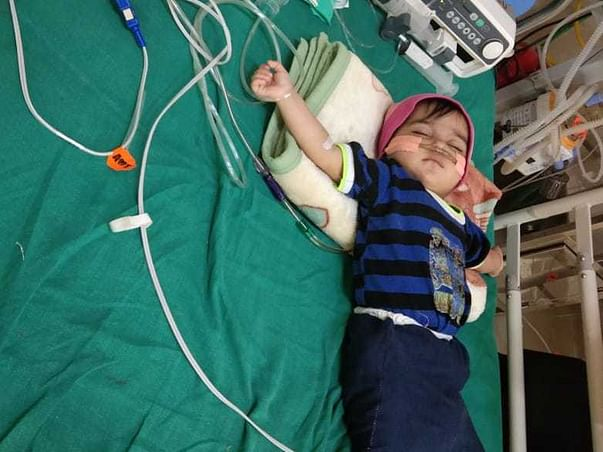 Help 1 Year-old Ashna Fight Respiratory Failure