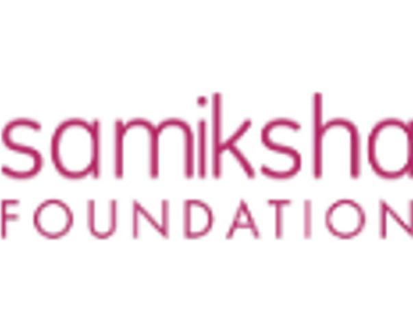 Celebrate my birthday with the Samiksha Foundation