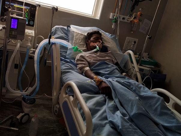 Help My Friend Rakesh for Treatment Of Severe Traumatic Brain Injury