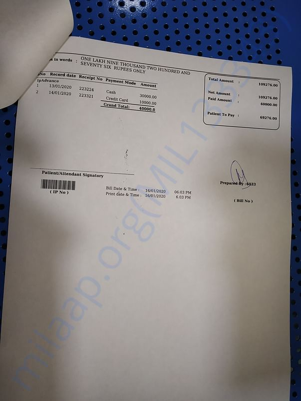 Dr.Mehta Hospital Bill 4