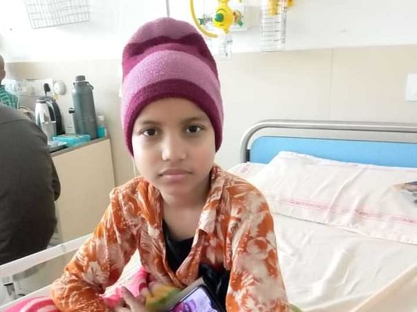 8 Years Old Palak Needs Your Help Fight Leukemia